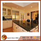 Farfalla Green Perfabricated Granite Countertop per Kitchen