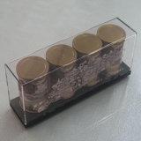 Fabricantes do chá/café acrílico personalizado/fontes acrílicas de /Hotel da caixa/caixa acrílica