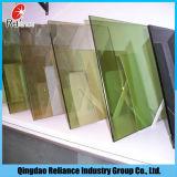5mmのフランスの緑の反射ガラス緑の一方通行ガラスは/反射ガラス造りガラス/Windowをガラス染めた