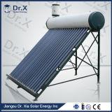 Calefator de água solar Non-Pressurized da câmara de ar de vácuo da circulação da natureza