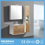 El cajón blanco y de madera moderno de la cabina de cuarto de baño surge automáticamente y el blanco (BF135M)