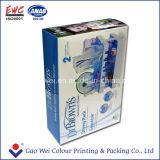 Caixa de empacotamento de papel da alta qualidade para a escova de frasco do leite