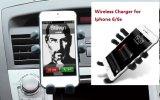 チー車の台紙のiPhone 6/6sのための無線充電器のホールダーと