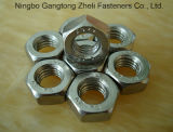 Steel inoxidável Bolt & Nut/Carbon Steel Hex Bolt e Nut, Hexagon Bolts e Nuts, DIN933/931, DIN934