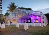 屋外機能ケイタリングのテントの結婚式の玄関ひさしのテント