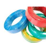 Fil électrique flexible de PVC, câble de cuivre pur de conducteur