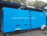 da potência à espera da avaliação de 660kVA 528kw jogo de gerador Diesel silencioso de Pekins