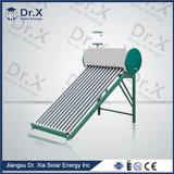 20本の管の非加圧太陽給湯装置の費用
