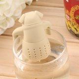 Цедильный мешок чая силикона формы Pug высокого качества симпатичный