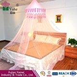 4柱式ベッドキャノピー蚊帳を吊るすDIY蚊帳
