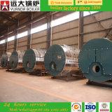 10ton por a caldeira de vapor despedida gás da baixa pressão da hora para a indústria da madeira compensada