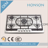 Gebouwd in de Platen van de Brander van de Haardplaat van het Gas voor de Chinese Apparatuur van de Keuken