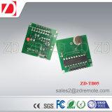 Módulo de transmissor sem fio Zd-Tb02 315 / 433MHz para alcance de trabalho longo
