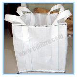 平底が付いている十字のコーナーFIBCのジャンボ大きいトン袋