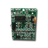 Carte de capteur de mouvement infrarouge intégré Antenna PIR avec lentille de Fresnel