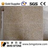 G682 beige Granit, rostige gelbe Granit-Eitelkeits-Oberseiten, Gegenoberseiten