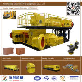 Hohle Lehm-Ziegelstein-Maschinen-kleine Block-Maschine