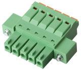 blocchetto terminali Pluggable con l'UL, certificazione del passo di 3.5mm del Ce