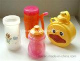 Le dessus chaud de fermeture éclair de vente badine autour du jouet de plastique de bouteille de coup