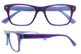 소녀를 위한 아름다운 밝은 색깔 Fashoin 안경알 아세테이트 Eyewear