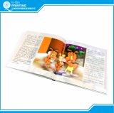 Impression polychrome de livre d'histoire d'enfant de gosse