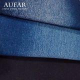 сплетенная 3241b62 ткань джинсыов джинсовой ткани хлопка сатинировки мытья способа