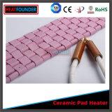 Préchauffage de la chaufferette en céramique flexible de garniture pour la pipe