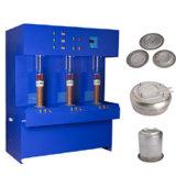 El calentador de inducción de calderas cubre con bronce la soldadora (3 sitios de trabajo)