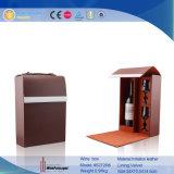 Boîte promotionnelle à vin de cadeau de bouteille simple avec les glaces (5272R4)