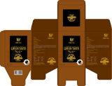 Boîtes de empaquetage à café de papier fait sur commande de la livraison rapide d'OEM d'usine