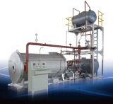 지역 난방을%s 자동적인 수평한 기름 또는 가스에 의하여 발사되는 증기 보일러