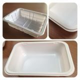 Plastiktellersegment, Platten/Behälter, der Maschine herstellt