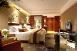 Ensemble en bois moderne de meubles de chambre à coucher d'hôtel