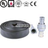 Tuyau d'incendie durable résistant de température élevée de PVC de 3 pouces
