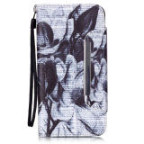 TPU di cuoio Caso Mobile Phone Flip Cover con Stand per iPhone6 6s