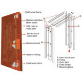 中国の製造者の販売の安い内部ドア(M-WS29)