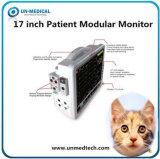 17インチマルチパラメータの大きいスクリーンの獣医の獣医の忍耐強いモニタ