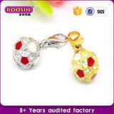 Juwelen van de Charme van de Voetbal van het Bergkristal van de Legering van Guangzhou de In het groot