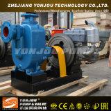 Bomba de água de esgoto de escorvamento automático do reboque móvel de escorvamento automático do ZW