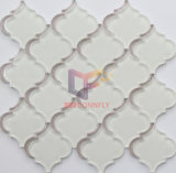 Color beige Flower Pattern Crystal Glass Mosaic da Wter Jet (CFW58)