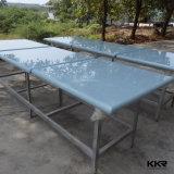 Tabela de jantar superior de mármore de superfície contínua da mobília italiana