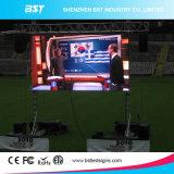 Pantalla de visualización a todo color de alquiler al aire libre caliente de LED del alto brillo de la venta P6.67mm