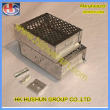 Caixa de alumínio do metal da fonte em China (HS-SM-0002)