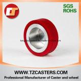 Roda do poliuretano com centro de alumínio