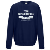 Оптовая фуфайка капитана Америка команды хлопка 2016 (A247)