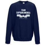Оптовая фуфайка капитана Америка команды хлопка 2017 (A247)