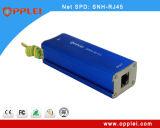 Prendedor do impulso da transmissão 100Mbps do Ethernet da única canaleta