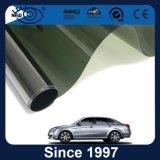 Película teñida vidrio reflexivo metálico azul claro de la ventana para el coche