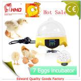 De goedkoopste Incubator van het Ei van het Gevogelte van de Prijs Mini voor het Gebruik van de Familie