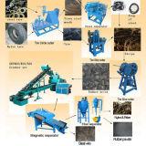Неныжные завод по переработке вторичного сырья покрышки/покрышка рециркулируя изготовление машины/резиновый машину порошка